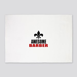 Awesome Barber 5'x7'Area Rug