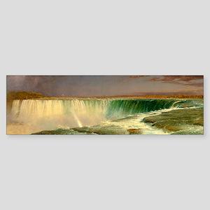 Niagara Falls by Frederic Edwin Church Bumper Stic