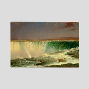 Niagara Falls by Frederic Edwin Church Magnets