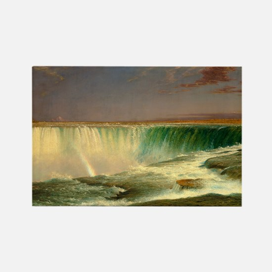 Niagara Falls by Frederic Edwin Church Magnets
