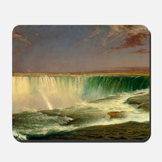 Niagara Falls by Frederic Edwin Church Mousepad