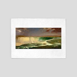 Niagara Falls by Frederic Edwin Church 5'x7'Area R