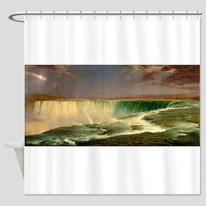 Niagara Falls by Frederic Edwin Church Shower Curt