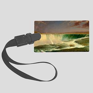Niagara Falls by Frederic Edwin Church Luggage Tag