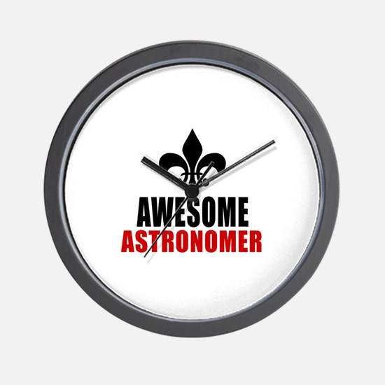 Awesome Astronomer Wall Clock