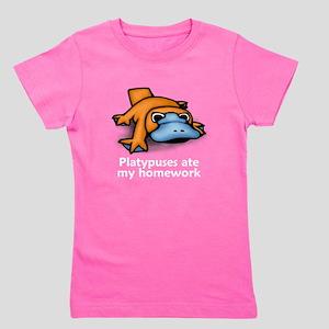 Platypuses ate my homework T-Shirt