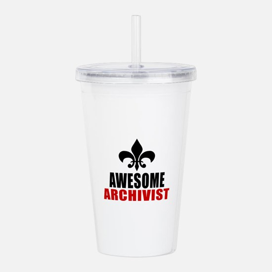 Awesome Archivist Acrylic Double-wall Tumbler