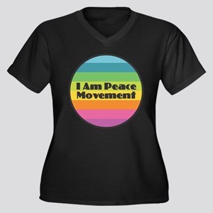 I Am Peace Movement Plus Size T-Shirt