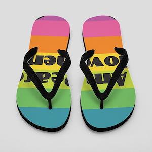 I Am Peace Movement Flip Flops