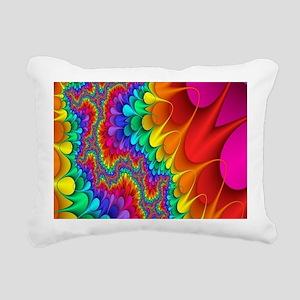 Pyschodelic Trip Rectangular Canvas Pillow