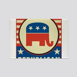 Retro Republican Magnets