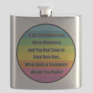 Politician Sandwich Flask