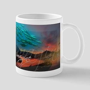 Imagine surreal landscape Mugs