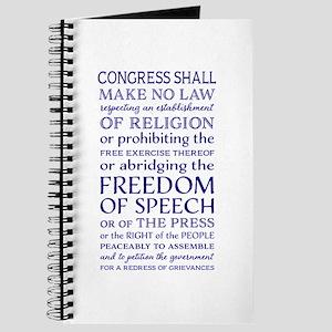 Freedom of Speech First Amendment Journal