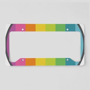 Coexist Rainbow License Plate Holder