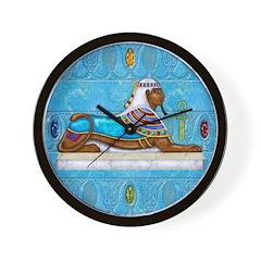 Egyptian Sphinx Wall Clock