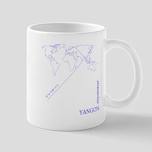Yangon geocode Mugs