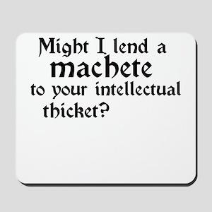 machete Mousepad