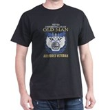 Air force veteran Mens Classic Dark T-Shirts