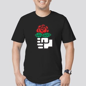 Socialism - The Fist and Red Rose Symbol T-Shirt