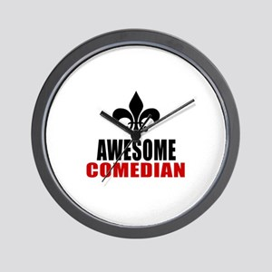 Awesome Comedian Wall Clock