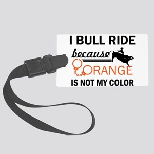 Bull rider gifts Large Luggage Tag