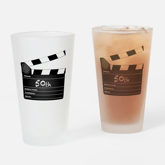 Cute Film camera Drinking Glass
