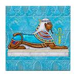Egyptian Sphinx Tile Coaster