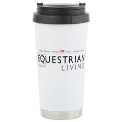 Equestrian Living Magzine Travel Mug