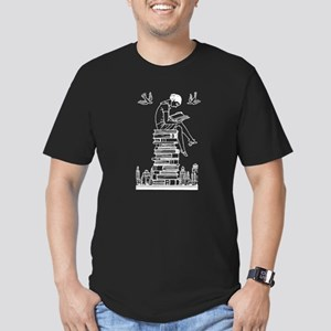 Reading Girl atop books T-Shirt