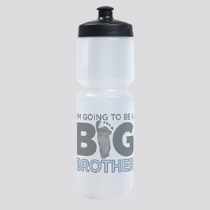 Im Going To Be A Big Brother Sports Bottle