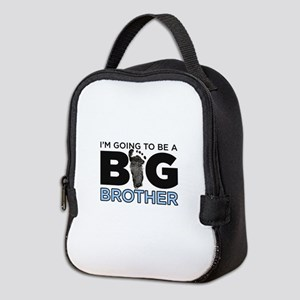 Im Going To Be A Big Brother Neoprene Lunch Bag