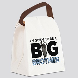 Im Going To Be A Big Brother Canvas Lunch Bag