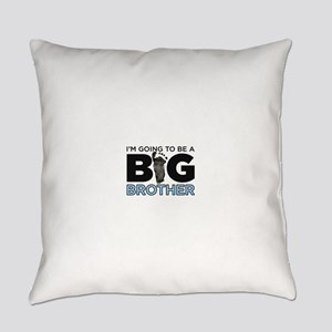 Im Going To Be A Big Brother Everyday Pillow
