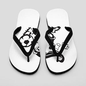 Soccer Girl Flip Flops