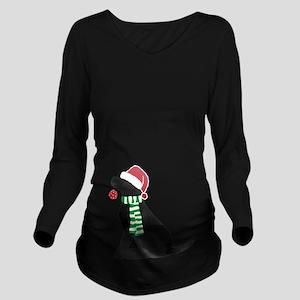 Christmas Black Lab Holiday Dog T-Shirt