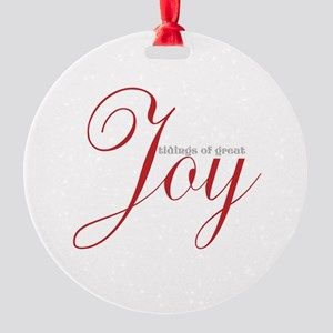 Joyful Tidings Ornament