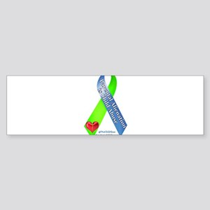 Parental Alienation Awareness Ribbon -White Bumper