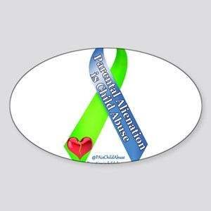 Parental Alienation Awareness Ribbon -White Sticke