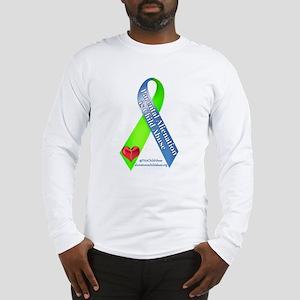 Parental Alienation Awareness Ribbon -White Long S