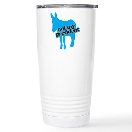 DNC Donkey Blue Stainless Steel Travel Mug