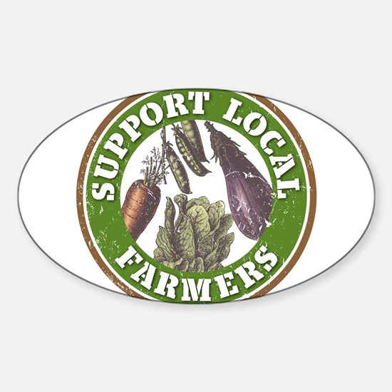 Support Local Farmer Decal