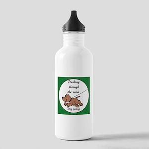 Dog-joring -- Dashing Stainless Water Bottle 1.0L