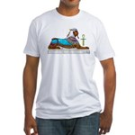 Egyptian Sphinx Fitted T-Shirt