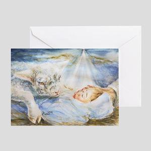 Lamb Of God Christmas Card Greeting Cards