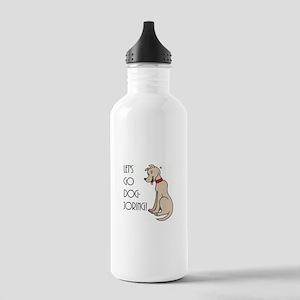 Let's go dog-joring - Stainless Water Bottle 1.0L