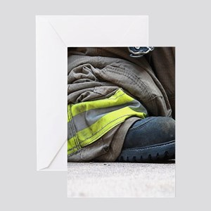 Fire Fighter Greeting Cards