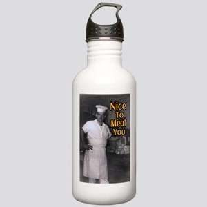 Nice To Meat You Stainless Water Bottle 1.0L