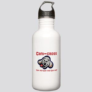 Cani-cross - Can we? D Stainless Water Bottle 1.0L