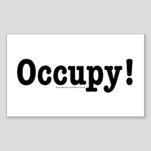 Occupy! Sticker (Rectangle)